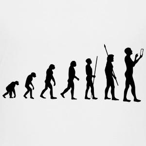 MOBILE EVOLUTION! Shirts - Teenage Premium T-Shirt