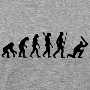 CRICKET EVOLUTION T-shirts - Mannen Premium T-shirt