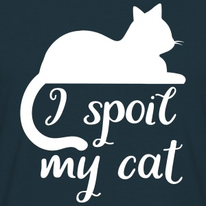 i spoil my cat T-Shirts - Men's T-Shirt