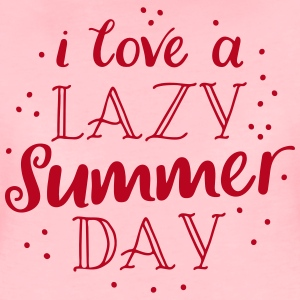 i love a lazy summer day T-Shirts - Women's Premium T-Shirt