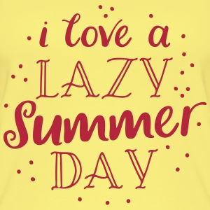i love a lazy summer day Tops - Women's Organic Tank Top