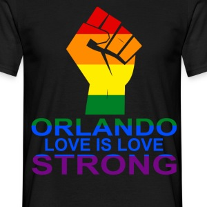 Love Is Love, Orlando Strong T-Shirts - Men's T-Shirt