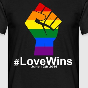 Love Wins 12th 2016 - Orlando Strong T-Shirts - Men's T-Shirt