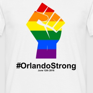 One Pulse Orlando June 12, 2016 - Orlando Strong T-Shirts - Men's T-Shirt