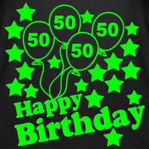 50 Geb Happy Birthday Tops - Frauen Premium Tank Top