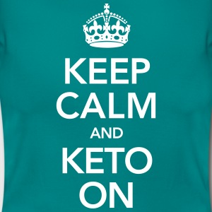 Keep Calm And Keto On T-Shirts - Women's T-Shirt