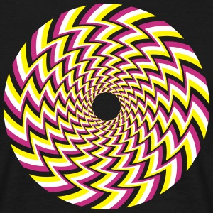 Optical Illusion 32A T-Shirts - Men's T-Shirt