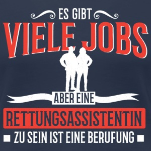 GoodJobs_Rettungsassisten T-Shirts - Frauen Premium T-Shirt