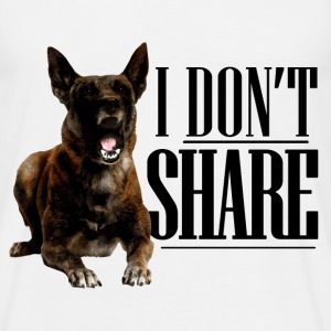 I do not share  - Men's T-Shirt