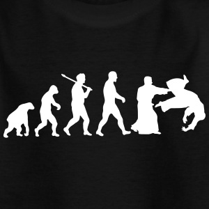 Evolution: Aïkido Tee shirts - T-shirt Enfant