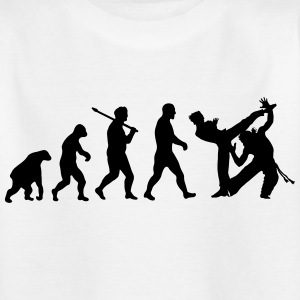 Evolution: Capoeira Shirts - Kids' T-Shirt