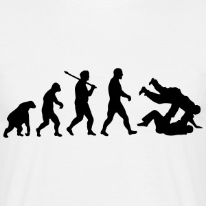 Evolution: Judo Jiu Jitsu T-Shirts - Men's T-Shirt