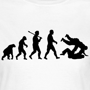 Evolution: Judo Jiu Jitsu T-Shirts - Frauen T-Shirt