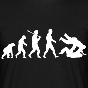 Evolution: Judo Jiu Jitsu T-shirts - Mannen T-shirt