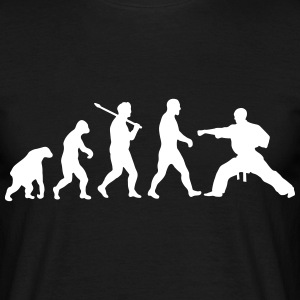 Evolution: Karate T-shirts - T-shirt herr