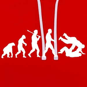 Evolution: Judo Jiu Jitsu Sweat-shirts - Sweat-shirt contraste