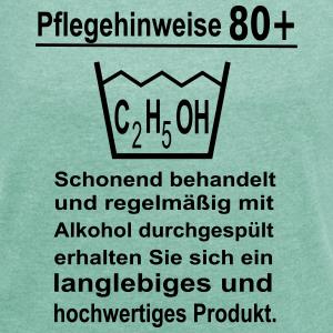 """Geburtstag T-Shirts mit """"Pflegehinweise 80. Geburtstag"""""""