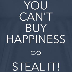 you can't buy happiness T-Shirts - Männer Premium T-Shirt