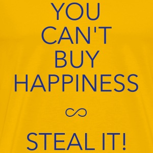 you can't buy happiness T-Shirts - Men's Premium T-Shirt