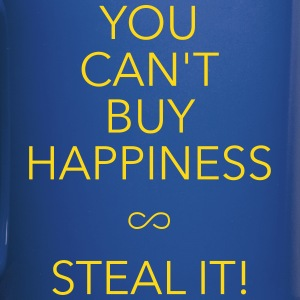 you can't buy happiness Mugs & Drinkware - Full Colour Mug
