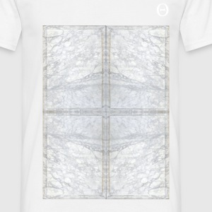 White Marble  - T-shirt Homme
