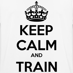 Keep calm and train - T-shirt respirant Homme