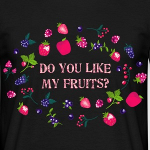 do_you_like_my_fruits_06201601 T-Shirts - Männer T-Shirt