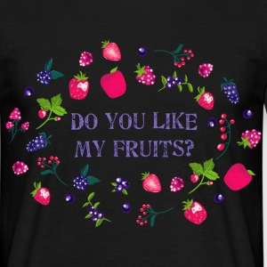 do_you_like_my_fruits_06201602 T-Shirts - Männer T-Shirt