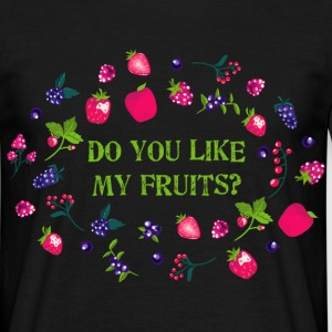 do_you_like_my_fruits_06201603 T-Shirts - Männer T-Shirt