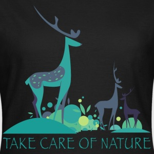take_care_of_nature_06201603 T-Shirts - Frauen T-Shirt