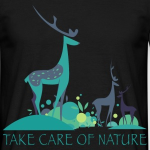 take_care_of_nature_06201603 T-Shirts - Männer T-Shirt