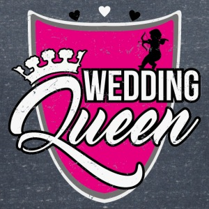 Wedding Queen T-shirts - Vrouwen T-shirt met V-hals