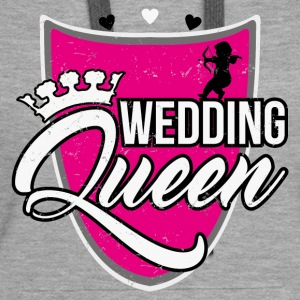 Wedding Queen Pullover & Hoodies - Frauen Premium Hoodie