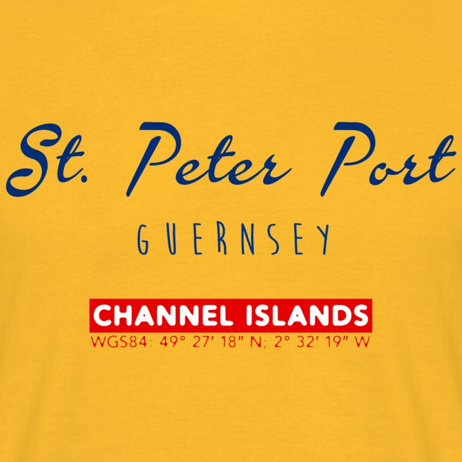 T-Shirt: St. Peter Port, Guernsey