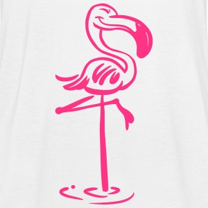 Flamingo Tank Top Bella - Frauen Tank Top von Bella