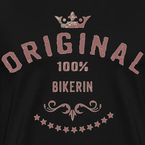 Original 100 Prozent Bikerin - RAHMENLOS red vint