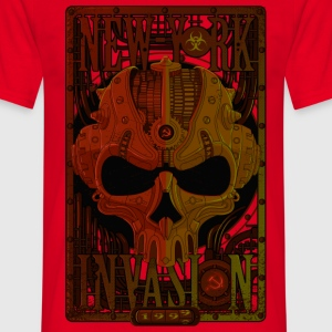 New-York invasion Tee shirts - T-shirt Homme