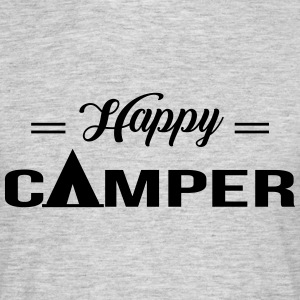 Happy Camper T-Shirts - Men's T-Shirt