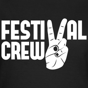 festival crew peace Musik Konzerte Party feiern T-Shirts - Frauen T-Shirt