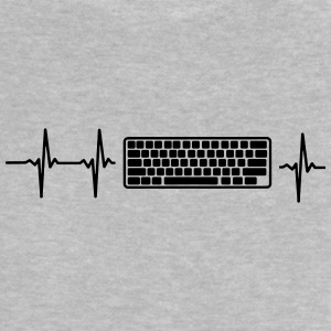 MY HEART BEATS FOR COMPUTER! Baby Shirts  - Baby T-Shirt