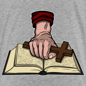 Bible and Cross Shirts - Teenage Premium T-Shirt