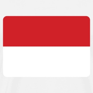 INDONESIEN FLAG T-shirts - Herre premium T-shirt