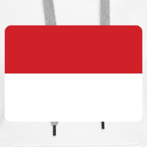 INDONESIA FLAG Hoodies & Sweatshirts - Women's Premium Hoodie