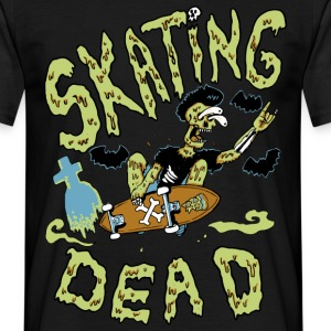 skating dead - T-shirt Homme
