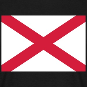 Alabama Flag T-Shirts - Männer T-Shirt