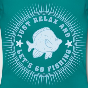relax_and_lets_go_fishing_06201607 T-Shirts - Frauen T-Shirt