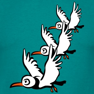 Bird seagull flying T-Shirts - Men's T-Shirt