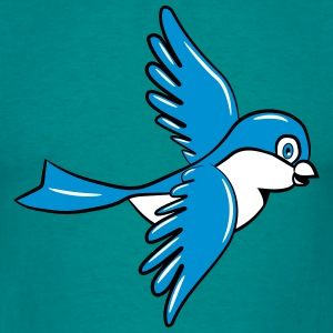 Bird flying sweet small T-Shirts - Men's T-Shirt