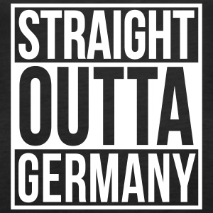 Straight Outta Germany Hip Hop Rap Statement Tops - Frauen Premium Tank Top