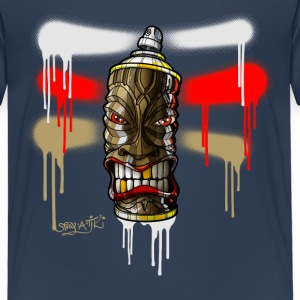 SPRAY A TIKI iii-a01rb-07 T-Shirts - Kinder Premium T-Shirt